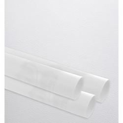 Papier cadeau, gaufré finesse, blanc, largeur 35 cm, rouleau de 100 m