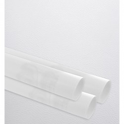 Gift paper, embossed fine, white, 35 cm wide, 100 m roll