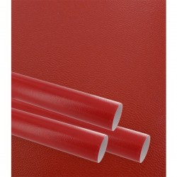 Papier cadeau, gaufré finesse, rouge, largeur 70 cm, rouleau de 50 m