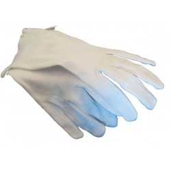 10 paires Gants Dame Blancs   Taille 9