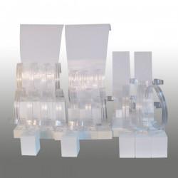 Kit S Blanc 15 pces Color' line
