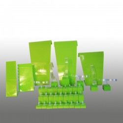 Présentoir kit M, multifonctions, anis, plexiglass