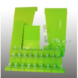 Présentoir kit S, multifonctions, anis, plexiglass