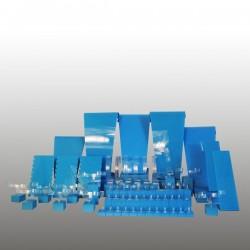 Présentoir kit XL, multifonctions, turquoise, plexiglass