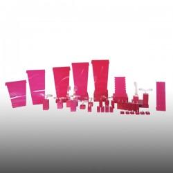 Présentoir kit XL, multifonctions, fushia, plexiglass