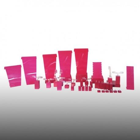 Kit XL Fushia 31 pces Color' line