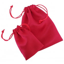 Satin pouch with cords 829 - 120x150 mm