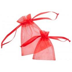Oraganza pouches satin ribbon 840 - 70x100 mm