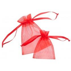 Oraganza pouches satin ribbon 840 - 100x130 mm