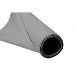 le mètre tissu gainage 140 cm Gris simili cuir