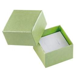 Ecrin à bague carré, en carton, Soha 32