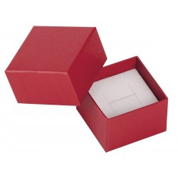 Ecrin à bague carré, en carton, Edora 18