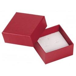 Ecrin à Boucles d'oreilles carré, en carton, Edora 18