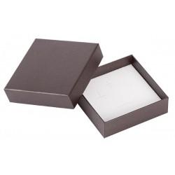 Ecrin à pendentif chaîne carré, en carton, Edora 18
