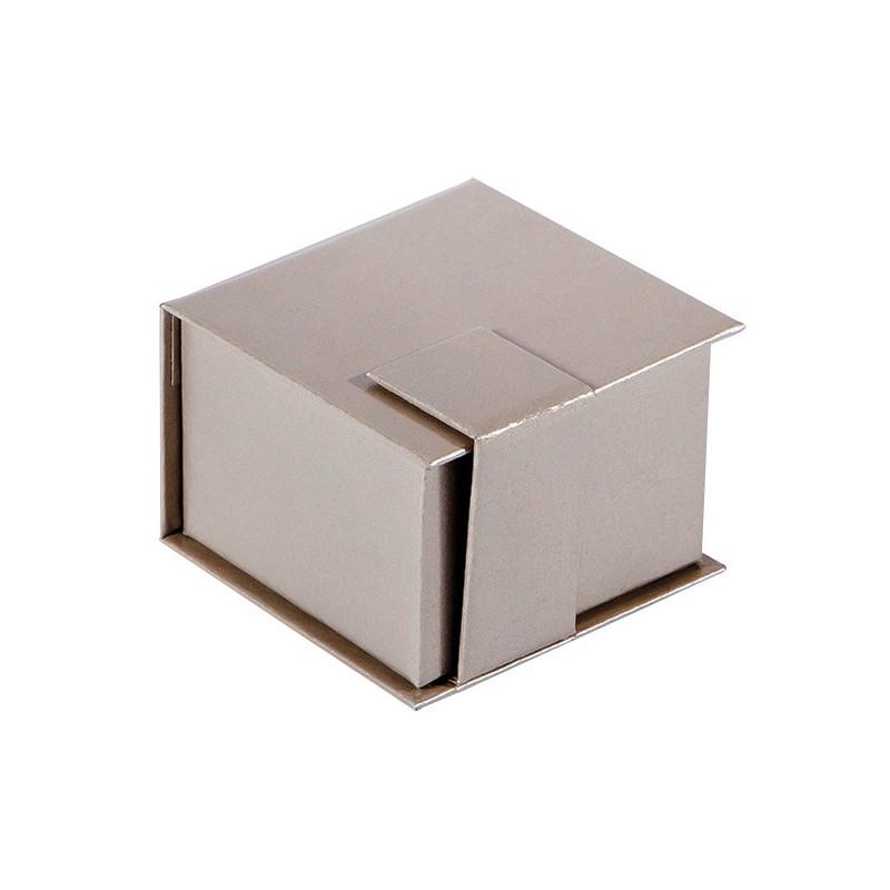 acheter ecrin bague carr en carton qamea 39. Black Bedroom Furniture Sets. Home Design Ideas