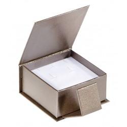 Ecrin à Boucles d'oreilles carré, en carton, Qamea 39