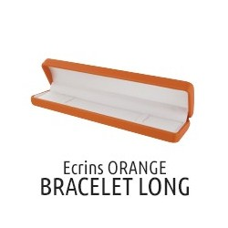 Bracelet box orange imitation leather