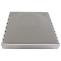 Module collier carré  laqué blanc