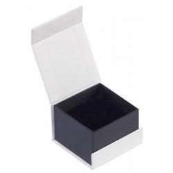 Ecrin à bague carré, en carton, Domino 33