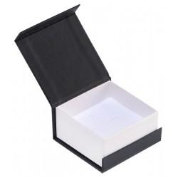Ecrin à Boucles d'oreilles carré, en carton, Domino 33