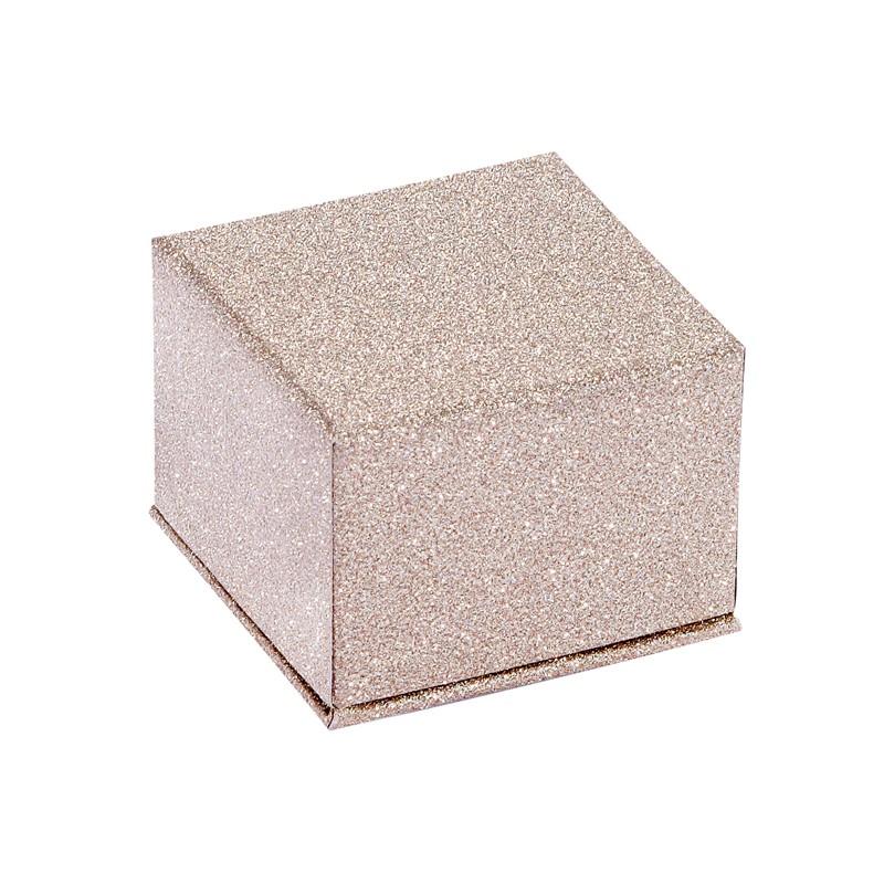 acheter ecrin bague carr en carton glitz26. Black Bedroom Furniture Sets. Home Design Ideas