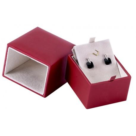 Ecrin luxe à multi BO, pendentif, design plumier, carré, N°24