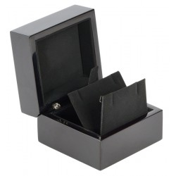 Earrings Luxury box, made of lacquered wood, N°299