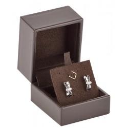 Earrings luxury box, leather, N°64
