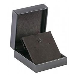 Long earrings luxury box, leather, N°64