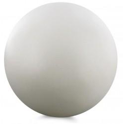 Boule bois blanc diamètre 4 cm blanc