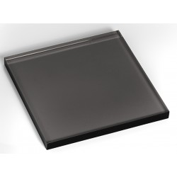 volume transparent Noir 200x200x15mm
