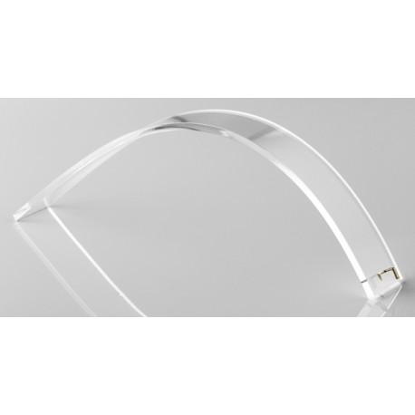 Sup.bracelet forme moyenne a/crochet 25x190 mm