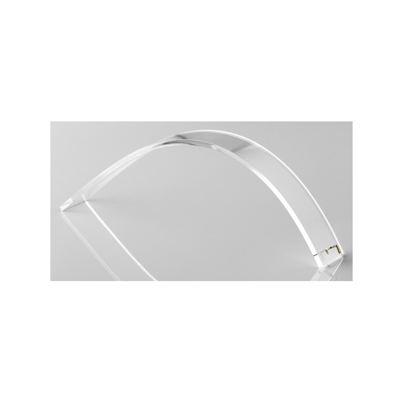 Acheter support bracelet forme moyenne transparent for Forme in plexiglass