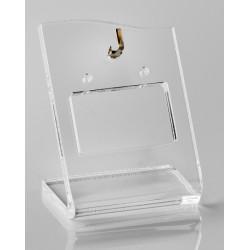 Holder Bangles transparent, plexiglass, 35x45 mm