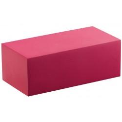 Socle pour buste calisto rectangle, bois, mat, H30 mm