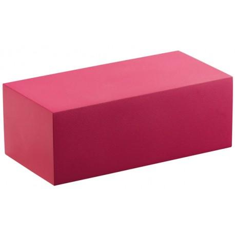 Socle rectangle p/buste 80xH30x40mm