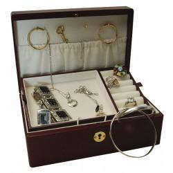 Coffret à bijoux luxe, avec clé , Derby 50