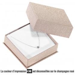 Pendant box, cardboard, Glitz 26