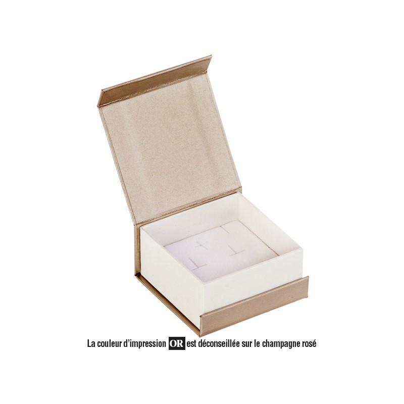 Acheter ecrin boucles d 39 oreilles carr en carton domino - Acheter carton colis ...