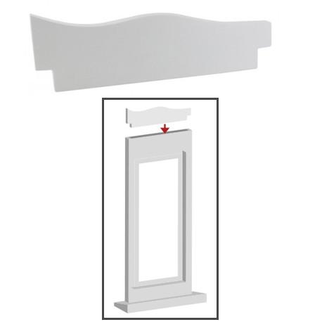 Décor découpe forme A 160x10xH50 mm