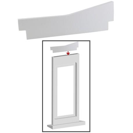 Décor découpe forme C 160x10x50 mm