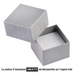 Ecrin à bague carré, en carton, Soha 31