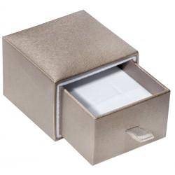 Ecrin à Bague fente, design plumier, en carton, SLID 37