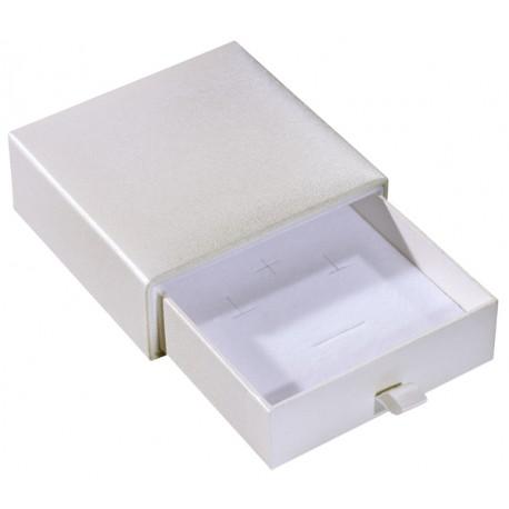 Ecrin à Pendentif, design plumier, en carton, SLID 37