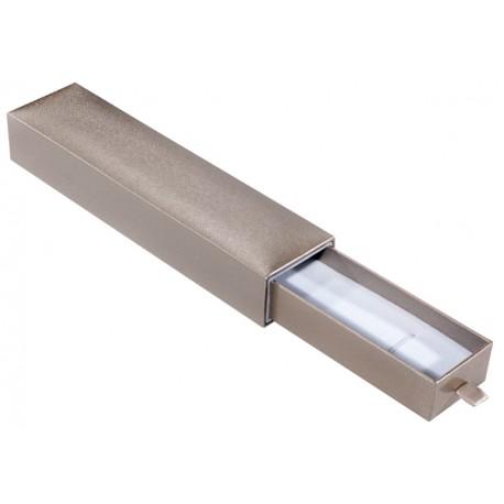 Ecrin à Bracelet long, design plumier, en carton, SLID 37