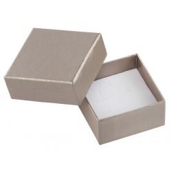 Ecrin à Boucles d'oreilles carré, en carton, Soha 32