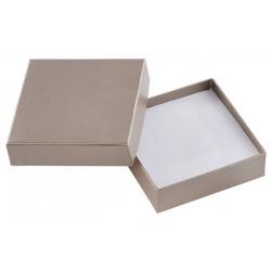 Ecrin à pendentif chaîne carré, en carton, Soha 32