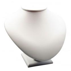 Buste pour collier, gainé simili cuir, H170 mm