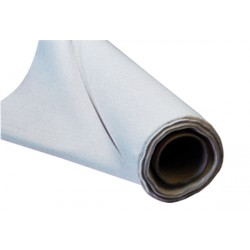 Le mètre tissu gainage - Laize 140 cm - Simili cuir vision blanc gaufré
