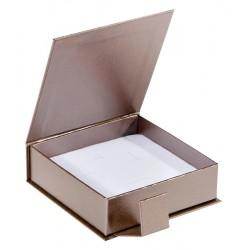 Ecrin à pendentif chaîne carré, en carton, Qamea 39